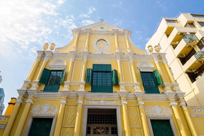 Tagestour zu den historischen Sehenswürdigkeiten von Macau mit der Fähre von Hongkong aus