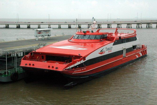 E-Ticket für TurboJet-Fähre von Kowloon nach Macau