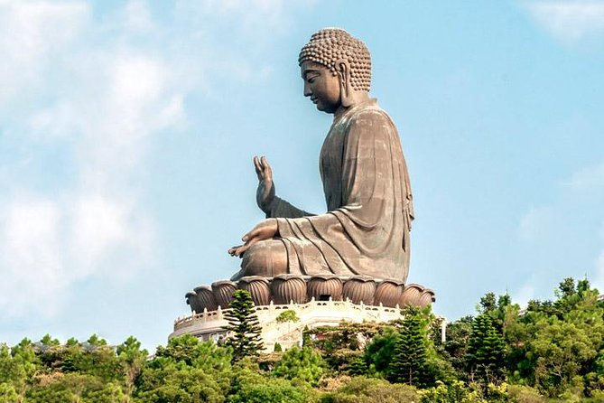 Coach Day Tour - Lantau Island Visiting and Giant Buddha Cable Car Tour Plus Tai O Boat Ride