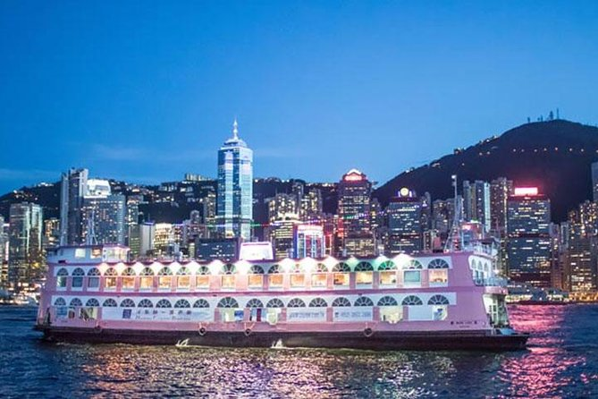 Victoria Harbour Dinner Cruise and Light Show from Kowloon Including Hotel Pickup photo 1