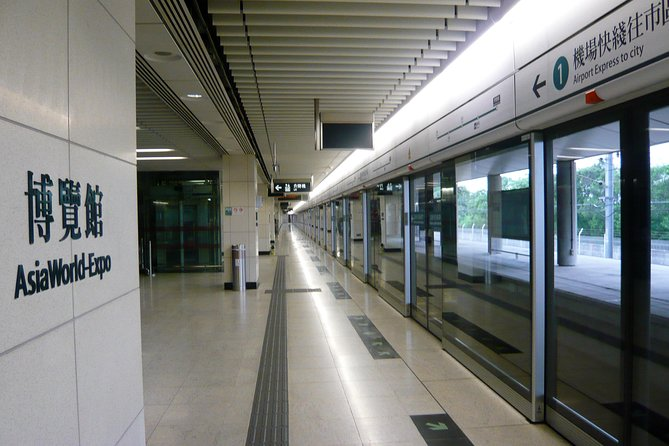 Airport Express E-Ticket to Hotels in Hong Kong