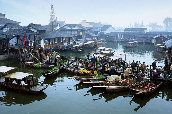 Wuzhen Water Town 2-dagstur med Bullet Train från Shanghai
