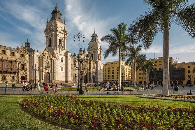 Afternoon: Lima City tour with entrances