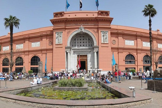 Private Tour Classic Cairo Pyramids and Egyptian museum from Alexandria Port