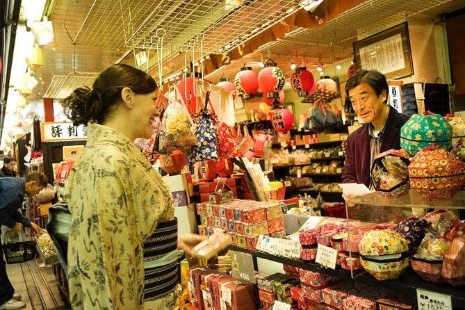 Private Custom Shopping Tour with a Geisha