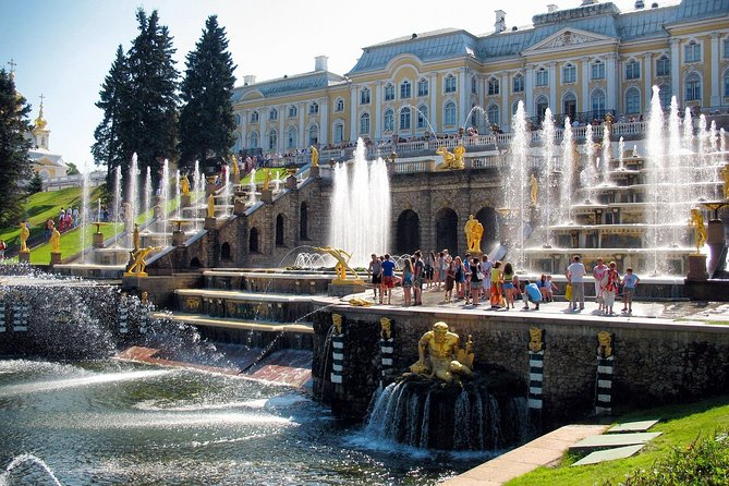 Peterhof Tour with Return by Hydrofoil from St. Petersburg photo 1