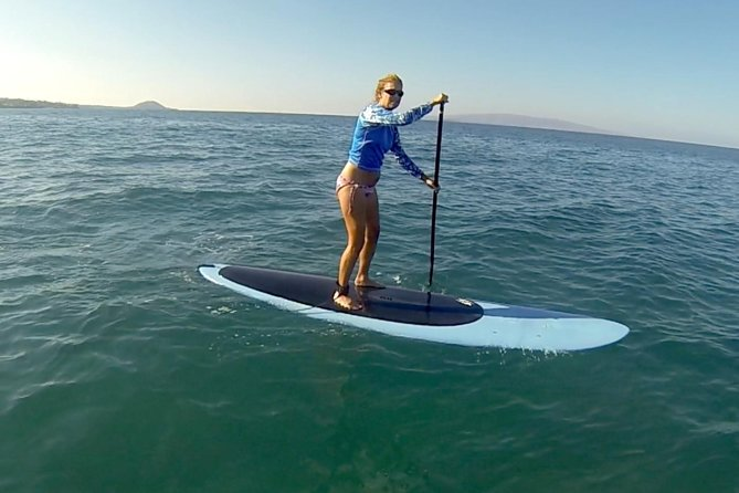 Private Standup Paddleboard Lesson for Beginners in Kihei