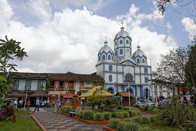 Tour privato: città attorno a Quindio, incluso il Salento
