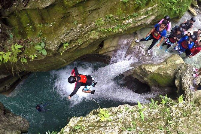 Small Group Badian Canyon Adventure from Cebu