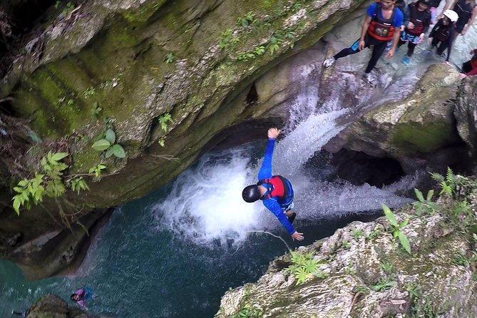 Canyoneering in Badian