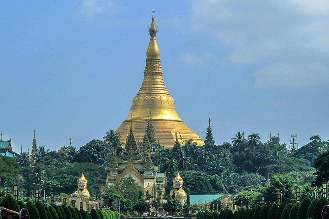Excursión turística privada de Yangon de día completo