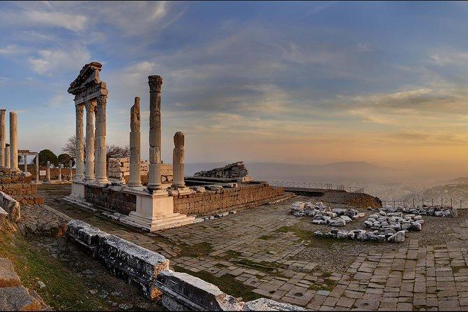 Privé-daagse kustexcursie vanuit Izmir: Pergamon - Asklepion