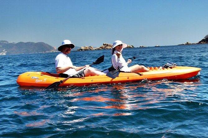 Recorrido en kayak con almuerzo en Acapulco