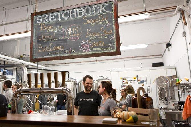 Visite privée à la bière artisanale et à la pizza de Chicago