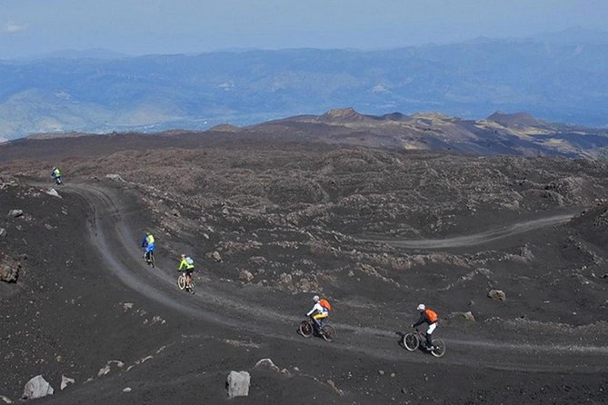 Etna in MTB Half day from Catania