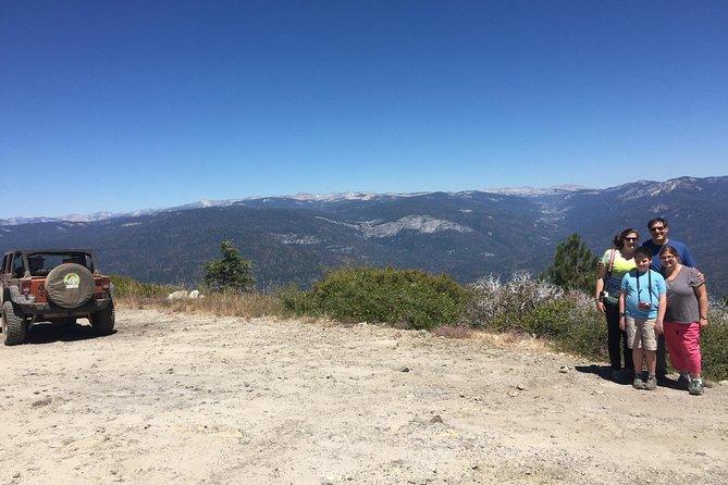 Tour du Diable en 4x4 Yosemite Sunset Devils Peak