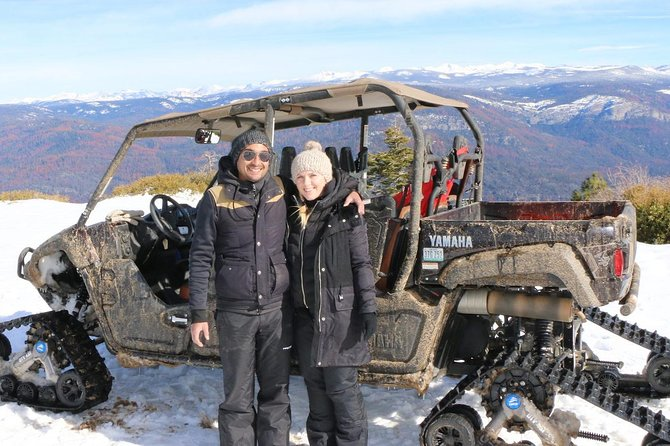 Excursion de piste de neige de Devils Peak