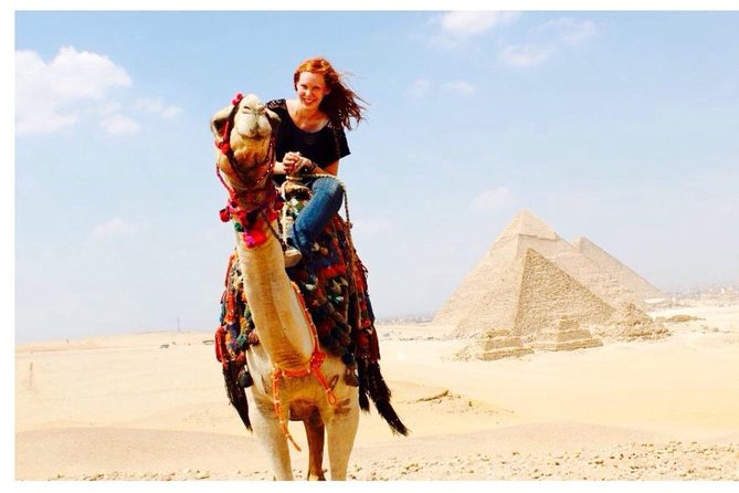 Giza Pyramids and Sphinx with an Egyptian Lunch