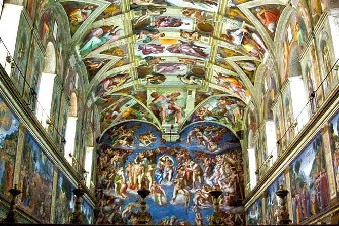 Sistine Chapel Introduction with Vatican Museums Skip the Line Ticket