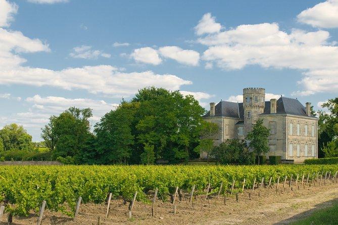 Excursão terrestre em Bordeaux: Excursão particular de um dia inteiro com degustação de vinhos de Médoc