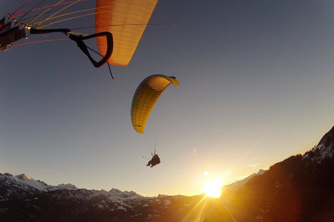 Zomerparagliding Beatenberg in Interlaken