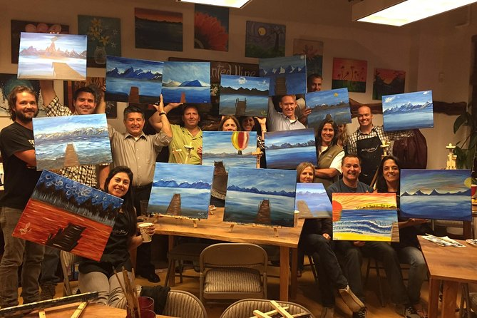 Local BNI Group Paints Chillin' on the Tahoe Dock!