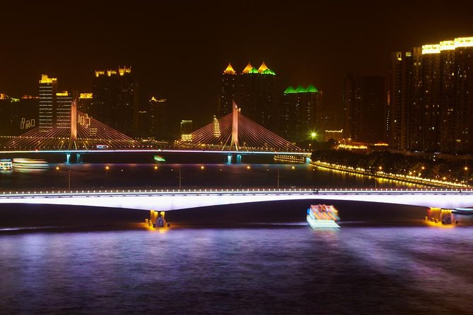 Pearl River Night Cruise & Eveing Tour in Guangzhou with Private Transport