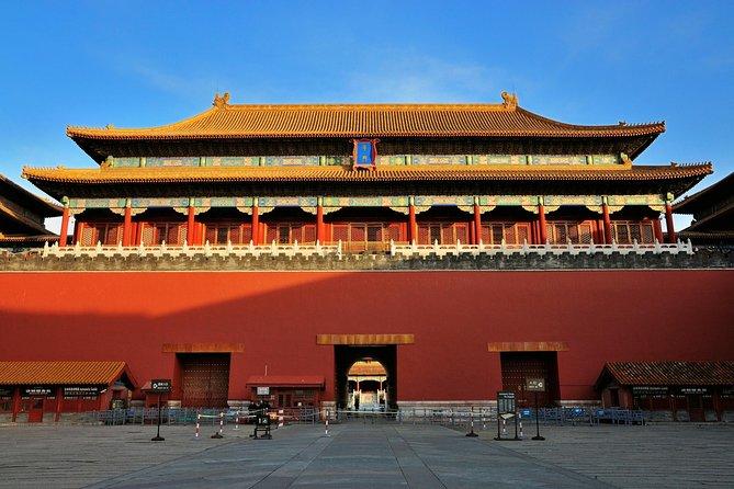 Den grunnleggende heldagsturen i Beijing (Beijing Essential) lar deg oppleve Den kinesiske mur ved Badaling, Den forbudte by og Den himmelske freds plass (Tiananmen-plassen).