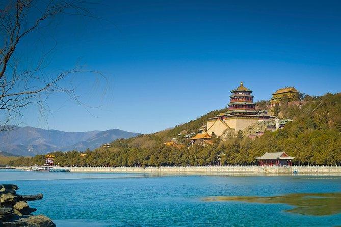 Excursão clássica de dia inteiro por Pequim, incluindo a Cidade Proibida, Tiananmen, o Palácio de Verão e o Templo do Céu