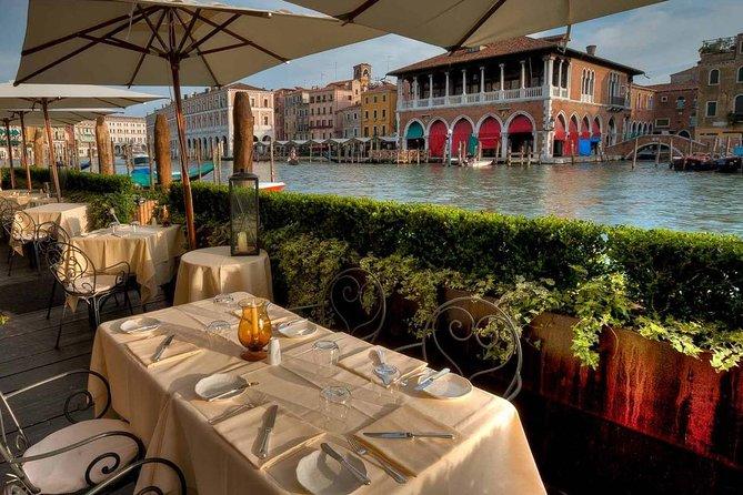 Excursion œnologique et gastronomique au marché du Rialto avec déjeuner à Venise