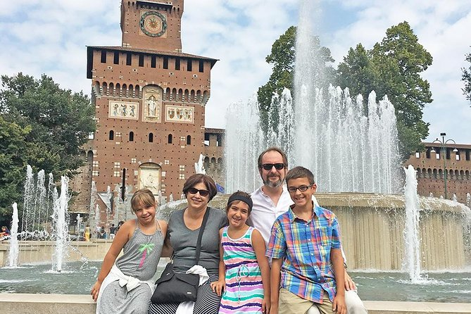 Milan Private Sightseeing Tour for Kids and Families with Local Guide Image