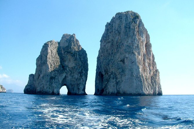 Capri and Blue Grotto Private Day Trip from Salerno