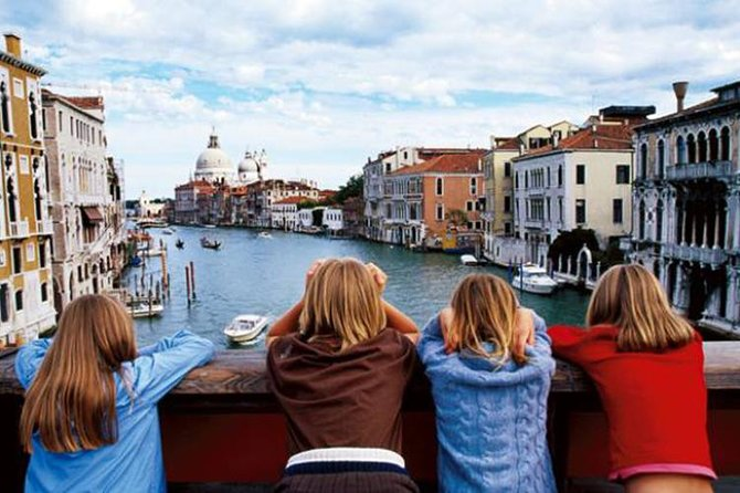 Kids tour of Venice