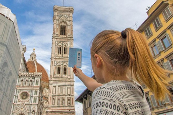 Florence Sightseeing Tour for Kids & Families with Gelato Tasting