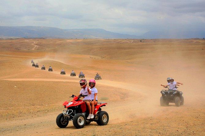 Quad Bike Adventure And Magical Dinner In Agafay Desert