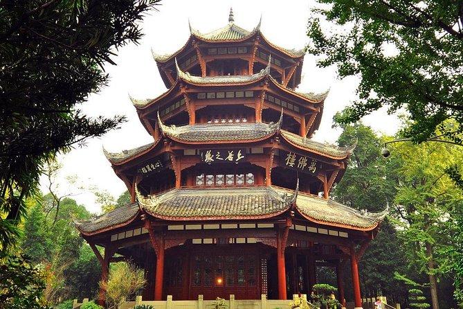 Chengdu City Tour of Qingyang Palace, Wuhou Temple and Jinli Street
