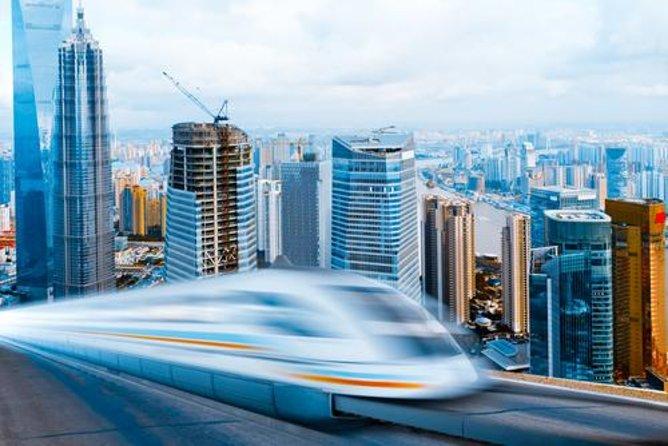 Transferência de chegada por trem Maglev de alta velocidade: Aeroporto Internacional de Shanghai Pudong até o hotel