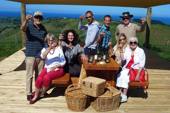 Tarde Napier Wine Tour + Cata de cerveza opcional