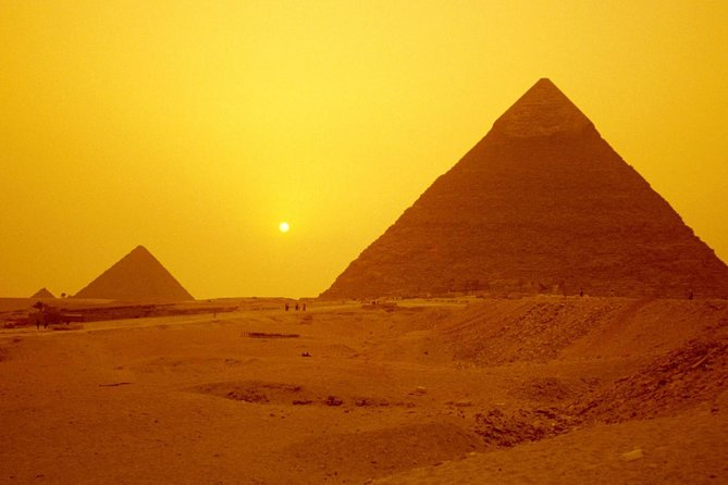 Day Tour to Giza pyramids with Camel riding from port said