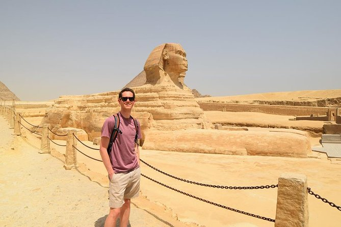 Day tour to Giza pyramids and sakkara from port said