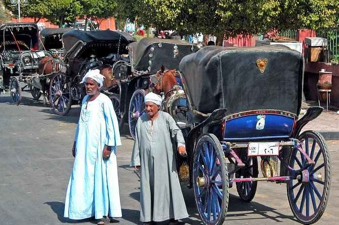 Private tour in the West Bank and horse carriage ride in the East Bank in Luxor