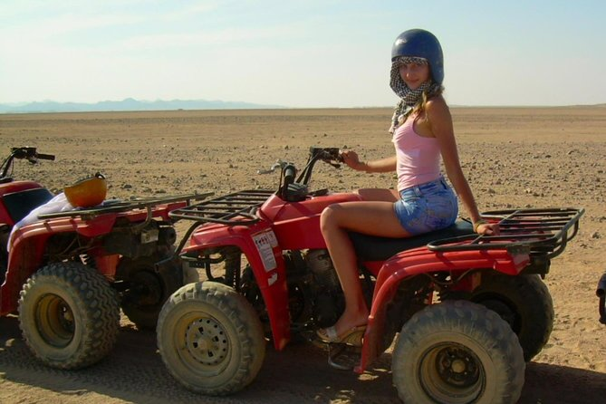 Quad bike safari trip in luxor
