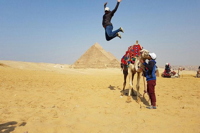 2 Days package Exploring Giza pyramids plus Egyptian museum and red sea photo 2
