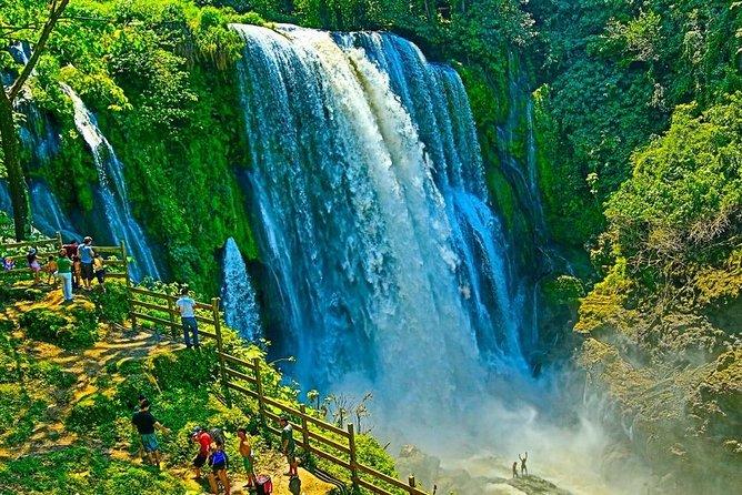 Day Trip to Pulhapanzak Waterfall and Kayak at Yojoa Lake from San Pedro Sula