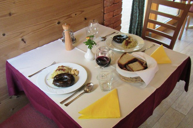 Lunch or Dinner trip to a typical Slovenian restaurant