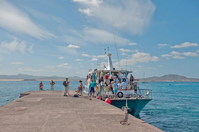 Lobos Island, Return Ticket and Entrance from Corralejo, Fuerteventura