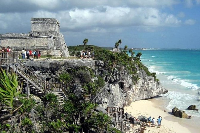4 places in 1 day for 1 price: Tulum, Coba, Cenote and Playa del carmen (4x1)