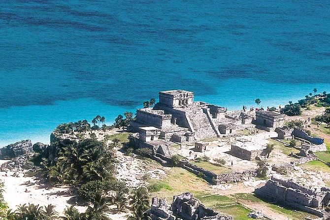 (4x1) Tulum, Coba, Cenote and Playa del Carmen in Our Full Day Tour