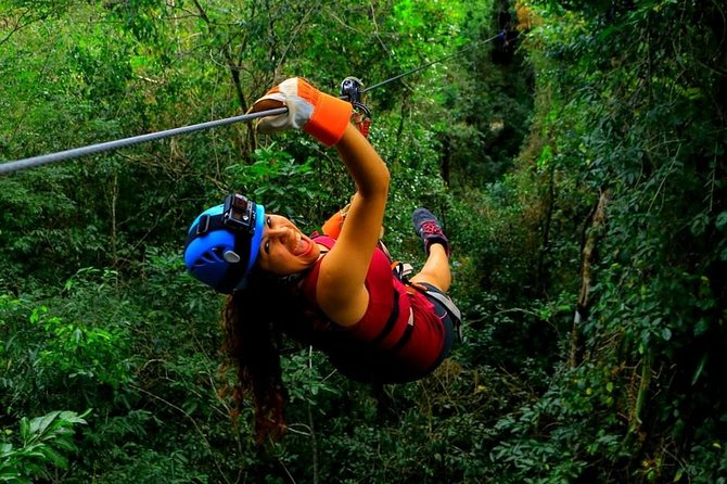Enjoy an extreme day in Riviera Maya ATVS (shared) Ziplines and a Mayan Cenote