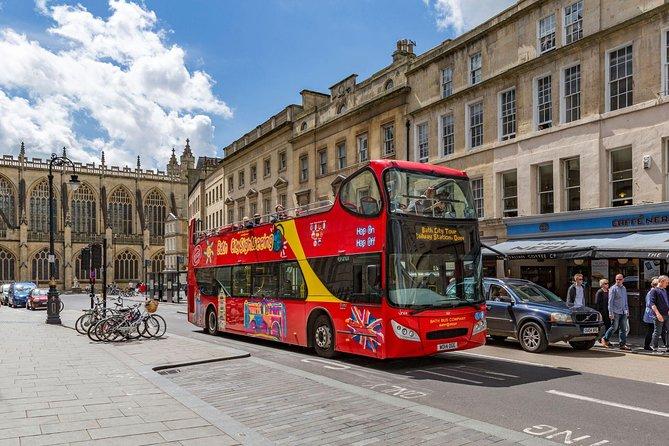 City Sightseeing Bath Hop-On Hop-Off Bus Tour
